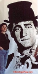 Painting- Backdrop - Sid Caesar Portrait
